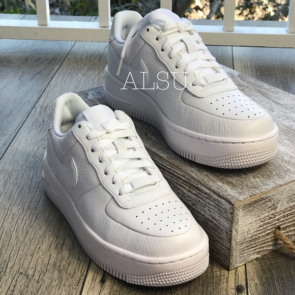 9b320c5a01db65 Nike Air Force 1 Upstep White WMNS AUTHENTIC